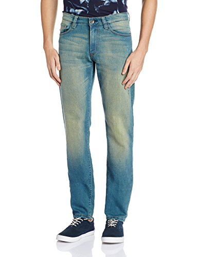 Allen Solly Men's Drop Crotch Jeans