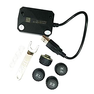 ATOTO USB TPMS Tire Pressure Monitoring Sensors System specified for A6/A6Y