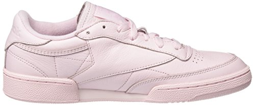 Reebok Club C 85 ELM, Sneakers Basses Homme Rose (Porcelain Pink)