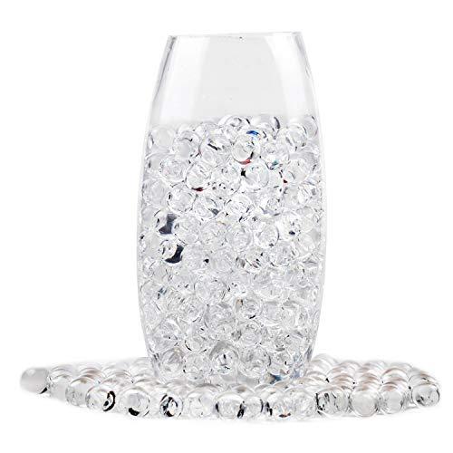 Perle Pflanze (Durchsichtig Wasserperlen Riesige Jelly Wasser Perlen Regenbogenfarbige Mischung für Hochzeit und Wohndekoration, Pflanzen Vase Füller (460))