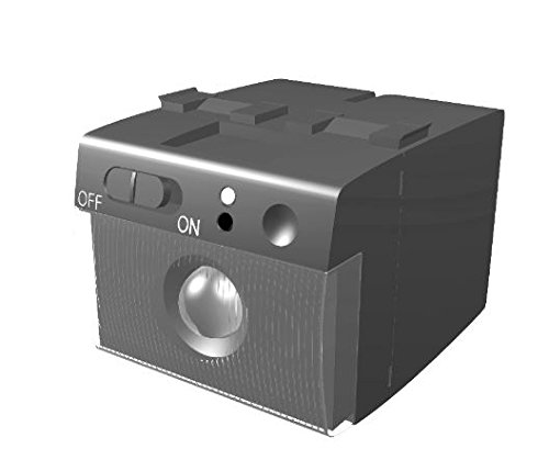 Gewiss GW30501 Lampada anti black-out estraibile, 230V ac 50/60HZ, 2 moduli Playbus
