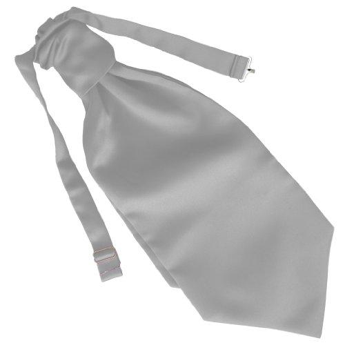 Mariage Ruche Cravate - différentes couleurs (Blanc)