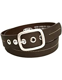 Mens Fashion Designer Brand Casual Real Leather Belt Suite Trouser Waist Buckle