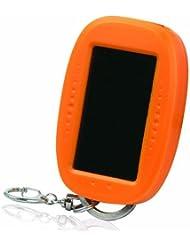 August FL605O Mini Lampe de Poche LED à Energie Solaire - Orange