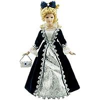 Cosette fiesta de Navidad porcelana invierno muñeca Vintage Lady buena para decoración del hogar Regalos