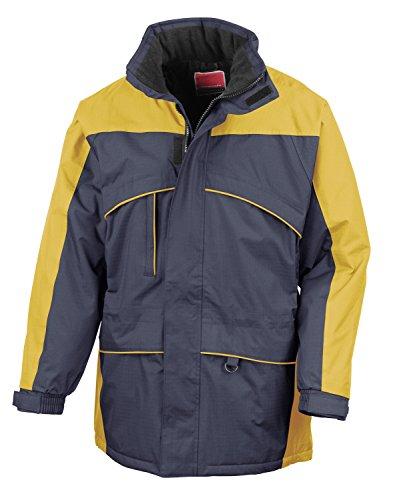 RT98 de randonnée seneca hi-activity veste d'hiver imperméable veste demi-saison Bleu - Navy-Yellow