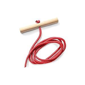 Pinolino 232332 – Zugseil für Schlitten, rot