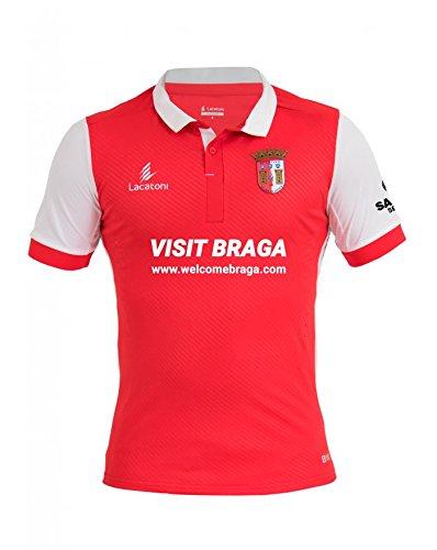LACATONI 1ª equipación SC Braga Adulto - Temporada 2017-2018 - Camiseta oficial - Talla S