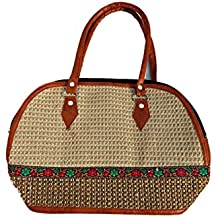 Ladies Trendy Handbag, Women's Trendy Classic Jute Handbag