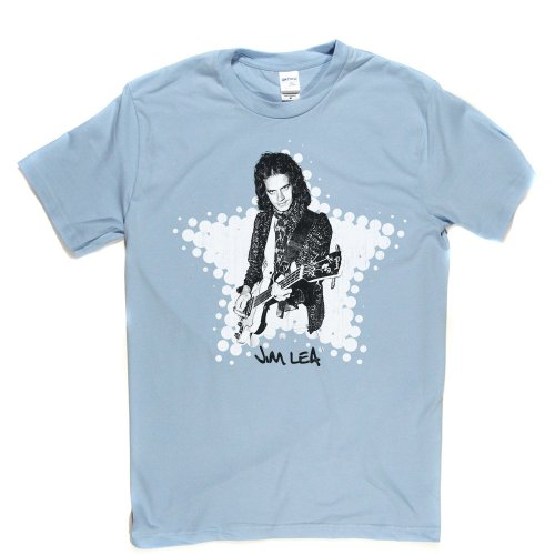 Jim Lea English Musician T-shirt Himmelblau