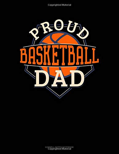 Proud Basketball Dad: Cornell Notes Notebook por Jeryx Publishing