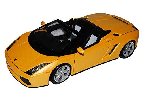 Lamborghini Gallardo Spyder Cabrio Gelb 2003-2013 18-12016 18-12016 1/18 Bburago Modell Auto
