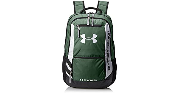 37f4ab7bf63a Under Armour Hustle Storm Backpack - Forest Green 301  Amazon.co.uk  Sports    Outdoors