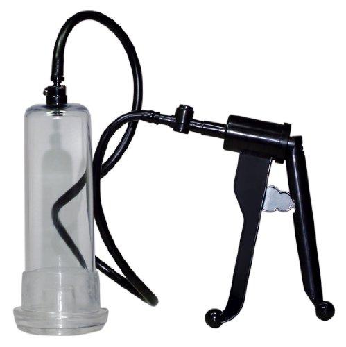 ORION Penispumpe - Vakuumpumpe mit handlichem Scherengriff für extra starkes Potenz-Vakuum, Stimulation und Training gleichzeitig