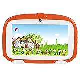 VBESTLIFE 7 Zoll Tablet PC,Dual Kamera WiFi Mini Learning Tablet,1G + 8 GB für Kinder Früherziehung,unterstüzt Android 4.4(Orange)