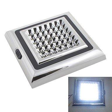 12V 42-led weiß Auto Indoor Lampe Dach Licht Leseleuchte weiß (Weiße Dach-lichter)