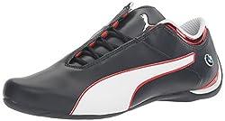 PUMA Mens Bmw MS Future Cat MU Walking Shoe, Team Blue-High Risk Red-Puma White, 4 M US