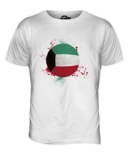 CandyMix Kuwait Fußball Herren T Shirt Weiß