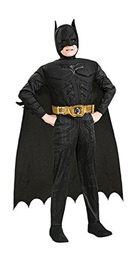 Batman Vor Kostüme Kind Vorsicht Dem (Batman Deluxe Muskel Kostüm für Kinder)