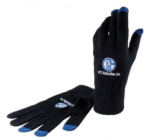 FC Schalke 04 Smartphone Handschuhe, schwarz, Größe: S