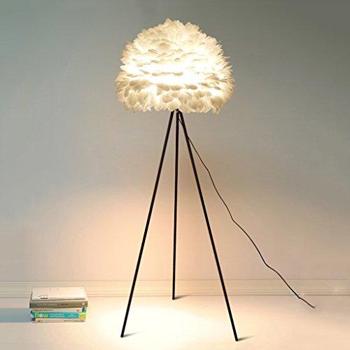 Stehlampe Weiße Feder Vogelnest Kreative Warme Romantische Prinzessin Schlafzimmer Kunst Wohnzimmer Arbeitszimmer Lampe Wohnzimmer -