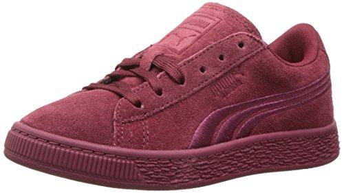 Classico Puma Pelle Distintivo Rosa Bambini Sneaker Scamosciata Della axxwCTZqp