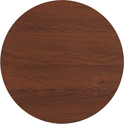 serladur Tischplatte Dekor BENETT/Eiche 60 cm rund, wetterfest für Garten, Terrasse, Balkon in Gastronomiequalität Ersatztischplatte Bistro -
