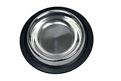Royal Sapphire Material Stainless Steel Dog Feeding Bowl (200Ml)