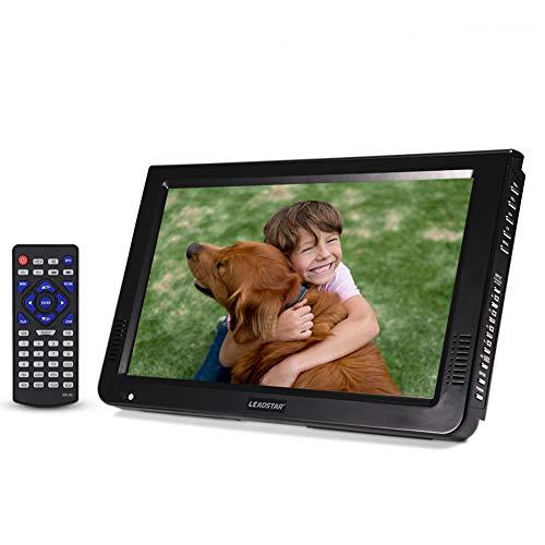 VBESTLIFE DVB-T-T2 Tragbarer Fernseher Digital Analog Fernsehen Portable TV,1024x600 Auflösung,RMVB/AVI/MPEG/MKV/MOV 1080P-Video
