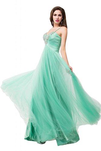Sunvary damigella d'onore, per abiti da sera o da cerimonia, con decorazione in cristallo a colonna Gowns Lavender