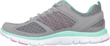 Skechers Flex Appealepicenter, Baskets Basses femme Epicenter Gray/Mint