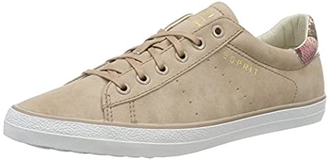 ESPRIT Damen Miana Lace Up Sneaker, Pink (Dark Old Pink 675), 38 EU