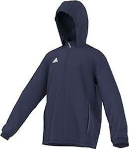 adidas Kinder Jacke/Anoraks Coref rai jkty, dunkel blau/Weiß, 116, S22284