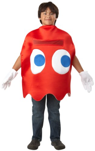 Pac-Man Blinky Deluxe Child Costume Pac-Man Bryn key -