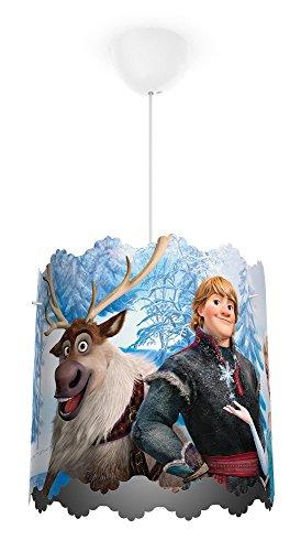 Philips Disney Frozen (Die Eiskönigin) Pendelleuchte, hellblau, 717510116 (Disney Prinzessin-spiel-teppich)