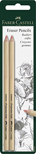 Faber-Castell – Juego de lápices para borrar Perfection 7056, para lápices y lápices de colores