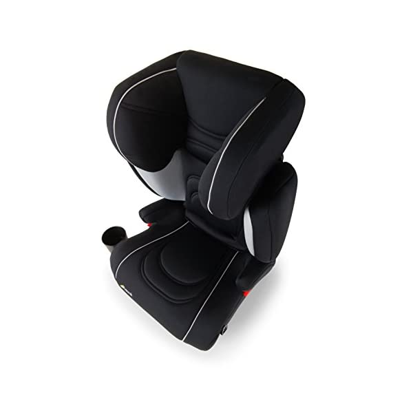 Hauck Bodyguard Pro - Forward Facing Car Seat ECE Group 2/3, Highback Booster Seat for Children 15 - 36 kg, Isofix Connect, Cupholder, Adjustable, Lightweight, Breathable Fabrics, Black/Grey Hauck ECE GROUP 2/3 - The Bodyguard Pro grow-along car seat is suitable for children from 15 kg to 36 kg (approximately 3 to 12 years) INNOVATIVE SAFETY - This car seat features a shock-absorbing side-impact protection system with memory foam and air-pocket system, approved to ECE 44/04 QUICK & EASY INSTALLATION - Easy to install thanks to the ISOFIX CONNECT fixation. This ensures that the car seat doesn't budge from its position in the event of a sudden braking manoeuvre or a rapid change of direction 7