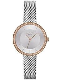 Kenneth Cole Reloj Analógico para Mujer de Cuarzo con Correa en Acero Inoxidable KC50198001