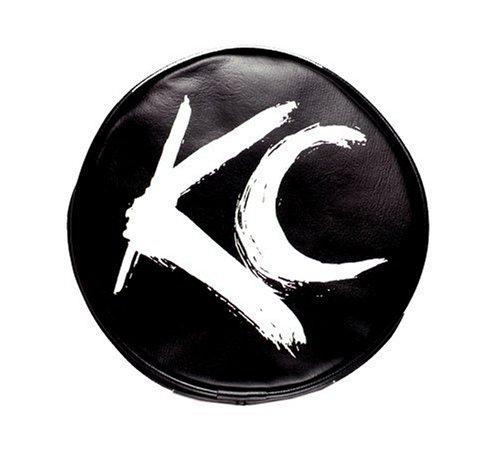 KC Hi-Lites 5117 6in Round Black W/ White Brush (Kc-led-leuchten)