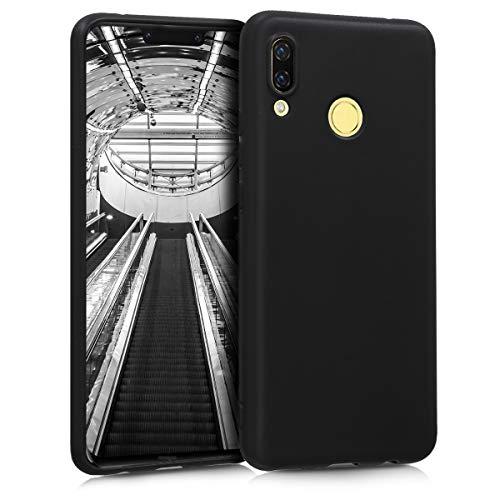 kwmobile Huawei Nova 3 Hülle - Handyhülle für Huawei Nova 3 - Handy Case in Schwarz matt