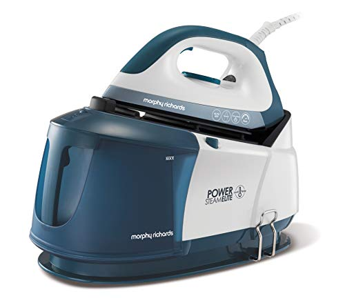Morphy Richards 332017 Steam Generator, 2400 W, White and Blue Best Price and Cheapest