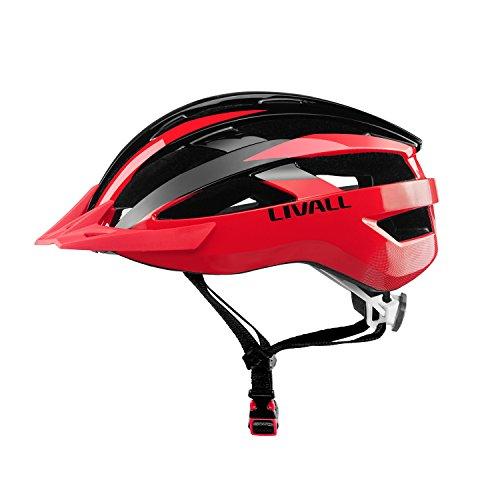 Livall MT1,smarter Fahrradhelm mit kabelloser Lenker-Fernbedienung für Abbieg-Signal hinten und an den Seiten,integriertem Mikrofon, und Bluetooth-Lautsprecher,...