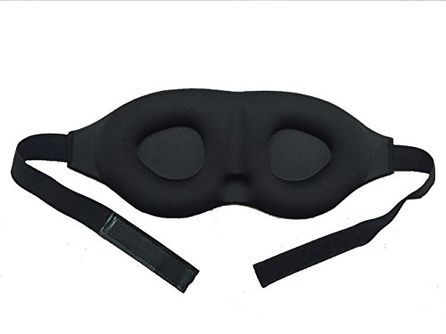 Bllomsem Eye Mask sonno Maschera di lusso 3D spugna sagomata confortevole Benda e doppio strato (Sonno Eye Mask)