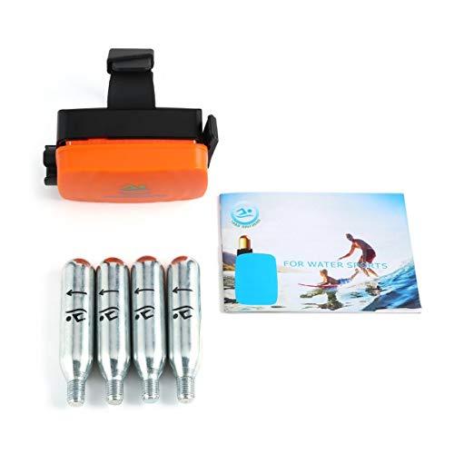 Gugutogo dispositivo anti-annegamento braccialetto dispositivo salvavita dispositivo di sicurezza polsino galleggiante (colore: nero)