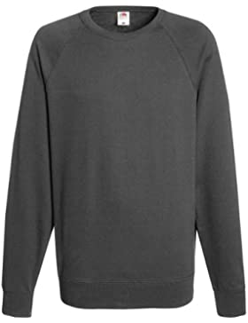 Fruit Of The Loom - Felpa Girocollo Maniche Raglan - Uomo