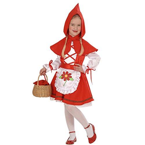 Rotkäppchen Kostüm Kinder Rotkäppchenkostüm 104 cm 2-3 Jahre Red Riding Hood Märchenkostüm Märchen Kinderkostüm Mädchenkostüm Verkleidung Fasching Kleinkinder Faschingskostüm Karneval Kostüme Mädchen (Red Riding Hood Zubehör)