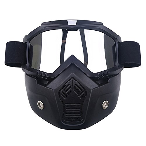 AchidistviQ Anti UV-Schnee Winter Sport Snowboard Ski Goggle Maske Helm Eyewear Sonnenbrille Silber