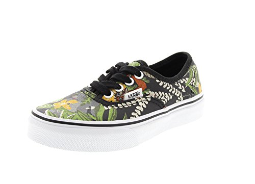 Vans Zapatillas K Authentic Negro Multicolor EU 30.5 (US 13) 946bf4fd66c