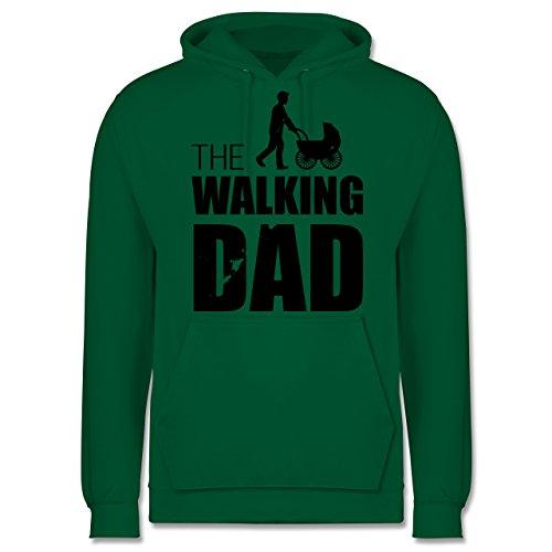 Vatertag - The Walking Dad - Herren Hoodie Grün