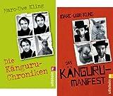 Marc-Uwe Kling 2 x als Taschenbuch (1. Die Känguru-Chroniken + 2. Das Känguru-Manifest)